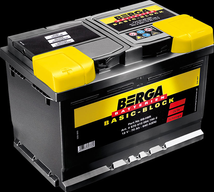 Berga Batterien - Basic-Block