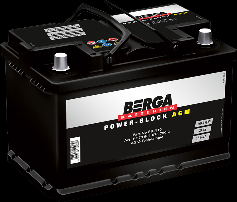 Berga Batterien - Power-Block AGM