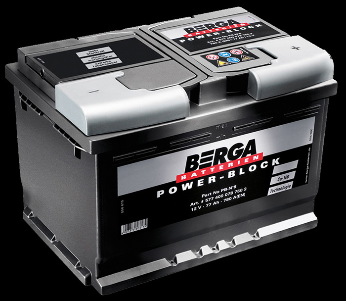 Berga Batterien - Power-Block