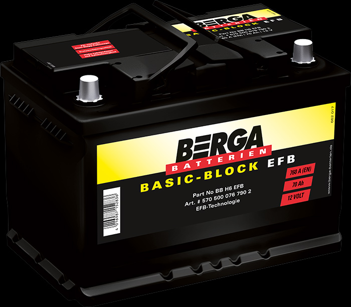 Berga Batterien - Basic-Block EFB